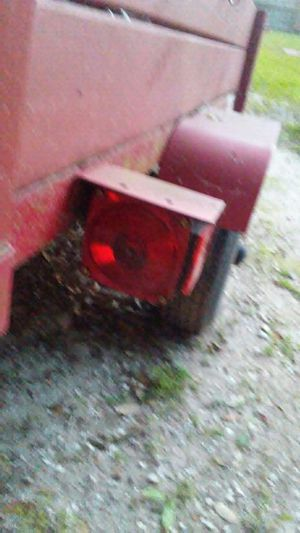 4x8 trailer new lights and wire works good. for Sale in Dade City, FL