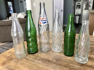 Vintage glass bottles for Sale in Kennewick, WA