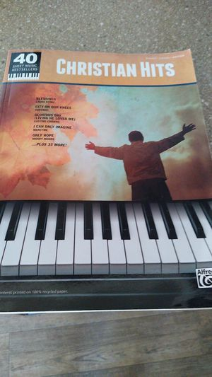 Christian Hits for piano vocal guitar for Sale in Temecula, CA
