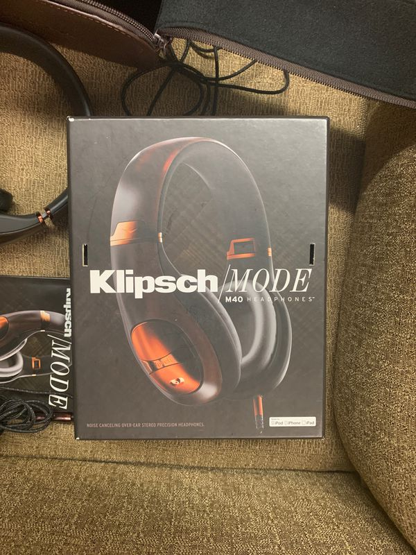 Klipsch/Mode m40Headphones noise canceling over ear still protection headphones need for iPod iPhone iPad iPhone 4S iPhone for iPhone 3GS iPad to an