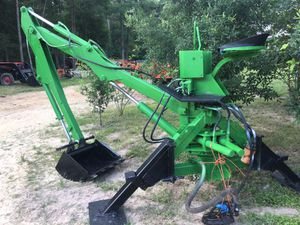 3 point backhoe atachment goes on any tractor for Sale in Hockley, TX