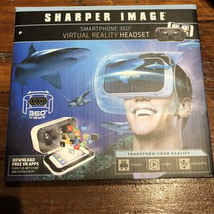 Sharper Image Virtual Reality Headset - New for Sale in Sioux Falls, SD