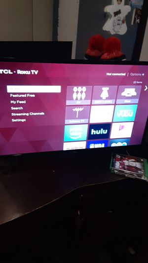 TCL roku tv for Sale in Mission, TX