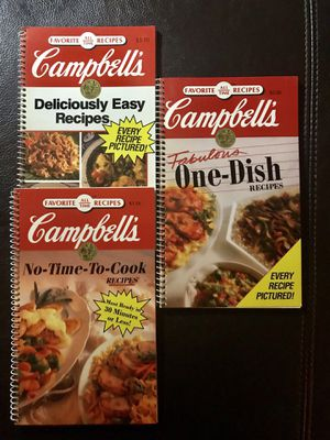 Campbell's Cook Books for Sale in Lakeside, AZ