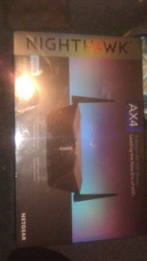 Netgear ax4 nighthawk wifi router for Sale in Quincy, MA