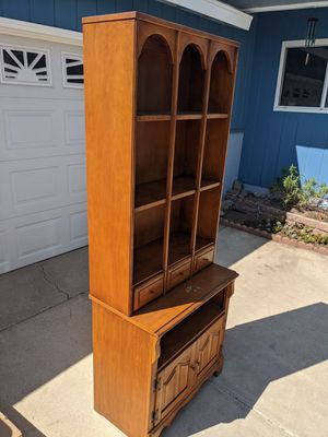 Antique cabinet and hutch for Sale in Fullerton, CA