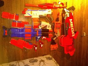 Nerf guns for Sale in Dedham, MA