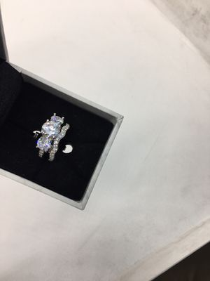 Beautiful 2 set promise engagement ring size 6 for Sale in San Jose, CA
