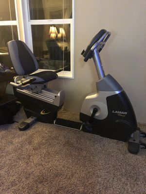 Lamar L-7350 Commercial Grade Recumbent Exercise Bike...Delivery Available! for Sale in Ridgefield, WA