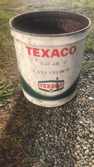 Large Vintage Texaco Oil Can for Sale in Raymond, WA
