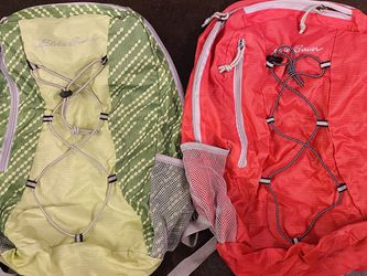 2 Set Of Foldable Collapsible Eddie Bauer Hiking Backpack for Sale in Bellevue,  WA