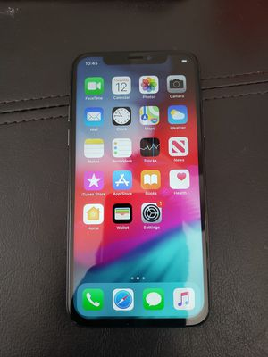 iPhone x 64gb unlocked for Sale in Conyers, GA