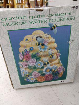 Garden musical fountain for Sale in Puyallup, WA