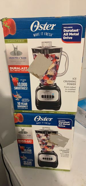 Oster Classic Series 5-Speed Blender - Black BLSTCP-B00 for Sale in Blacklick, OH