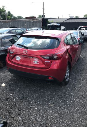 Selling parts for a red 2014 Mazda 3 STK#1349 for Sale in Detroit, MI