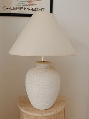 Vintage stone lamp for Sale in San Francisco, CA