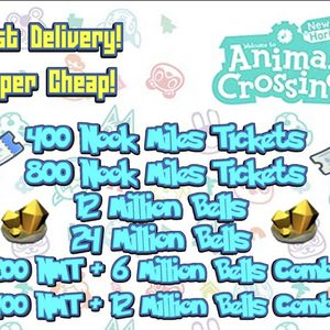 Nintendo Switch Animal Crossing Items Bells Nmt (full Inventory For $5) for Sale in Phoenix, AZ
