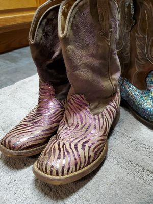 Girls roper boots size 2 for Sale in Portland, OR