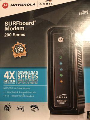 Motorola surfboard modem sb6121 for Sale in Nashville, TN