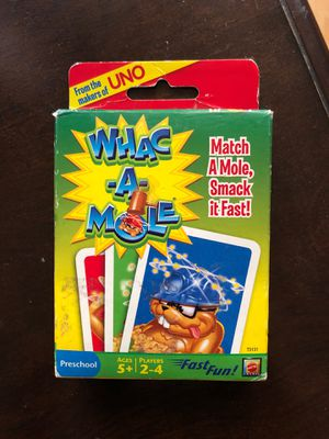 Whac a mole kids card game for Sale in West Covina, CA