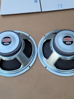 "G12T ""Hot 100"" 16ohm Guitar Speakers By Celestion - Used But In Proper Working Order for Sale in Artesia,  CA"