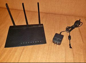 Asus RT-N66U Dual-band 2x2 N900 Wifi 4-port Gigabit Router for Sale in McKinney, TX