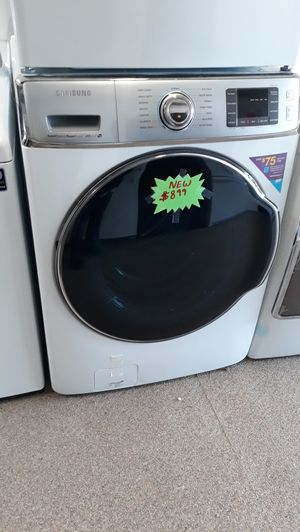 Mega large capacity front load washer brand new scratch and dent for Sale in Laurel, MD