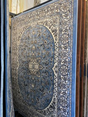 5x8 light blue classic Persian design carpet brand new floral rug for Sale in Los Angeles, CA