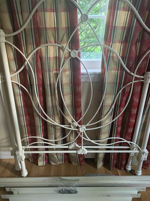 Pottery Barn Wrought Iron Twin Bed Frame for Sale in Acton, MA