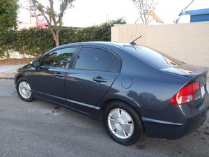 07 Honda civic hybrid titulo limpio 128millas corre bien $43oo for Sale in Anaheim, CA