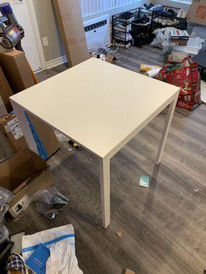 ikea metal table for Sale in Fullerton, CA