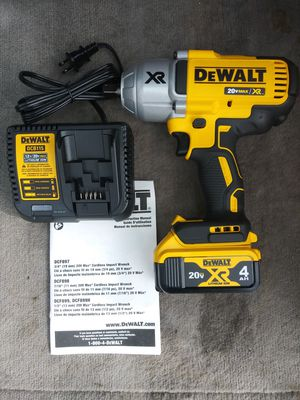 Dewalt 20-Volt Max XR Li-Ion Brushless High Torque 1/2 in. Impact Wrench for Sale in Medford, OR