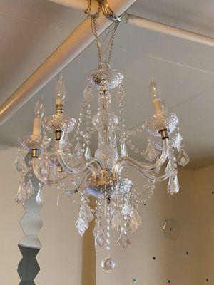 Acrylic chandelier for Sale in Seattle, WA
