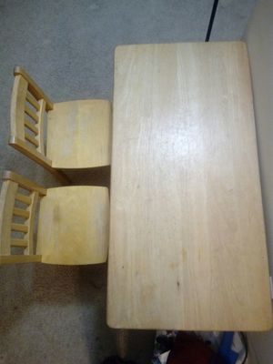 Kids table & chair for Sale in Arlington Heights, IL