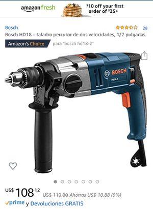 Bosch HD 18-2 for Sale in Palmetto Bay, FL
