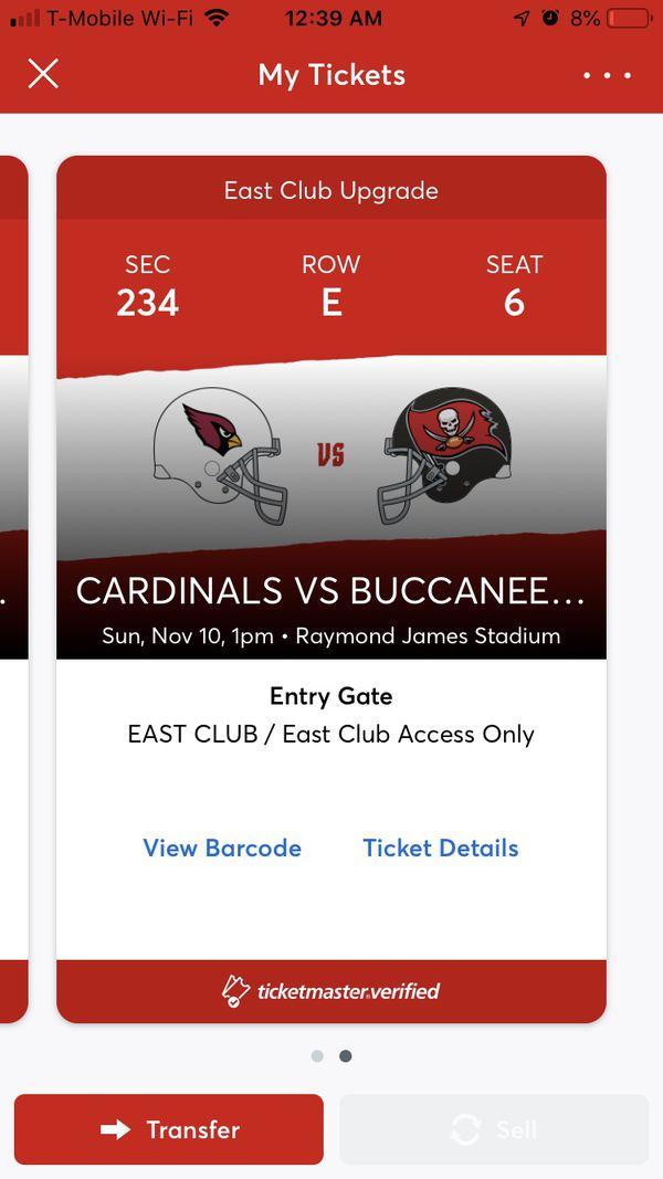 Cardinals vs Buccaneers