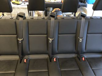 3 bench sets (10 seats) Mercedes Sprinter 2019 black leather Passenger Seats *brand new for Sale in Vancouver,  WA