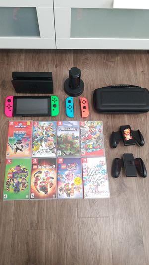 Nintendo Switch bundle for Sale in Kissimmee, FL