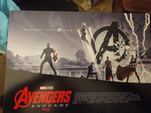Avengers Poster (ENDGAME) Movie poster (4 of them) for Sale in Chesapeake, VA