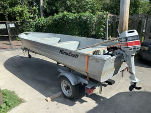 1994 MirroCraft Aluminum Boat for Sale in Cleveland, OH