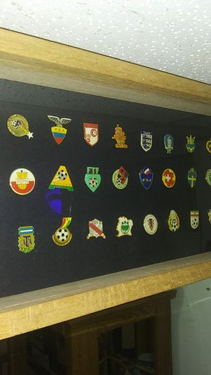 33 pieces set.. Worldwide Football / Soccer event Pins for Sale in Mason City, IA