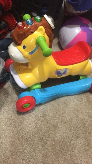 Crib and rocking horse for Sale in Mesquite, TX