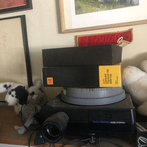 Three slide projectors and thousands of vintage slides for Sale in San Diego, CA