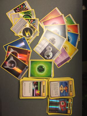 Pokemon Card Trainers and Energy's for Sale in Neenah, WI
