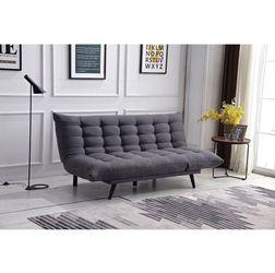 Brand New Gray Multi-Functional Futon Sofa Bed for Sale in Pomona,  CA