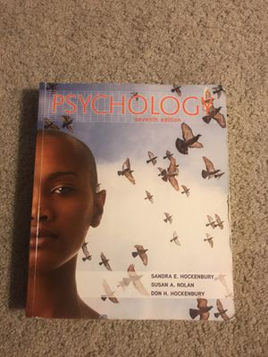 Psychology 7th edition book. for Sale in Rockville, MD