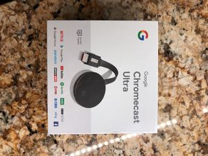 Google Chromecast Ultra for Sale in Gibsonia, PA