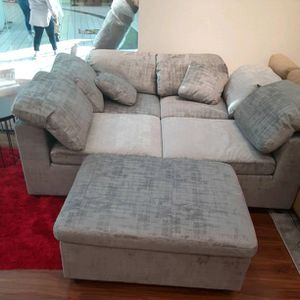 GORGEOUS MODERN MULTI LOOK LIMA SECTIONAL AND OTTOMAN! GET IT DELIVERED TODAY! NO CREDIT NEEDED FINANCING! for Sale in Brandon, FL