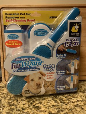 Fur Wizard Pet Fur & Lint Remover for Sale in Jackson, TN