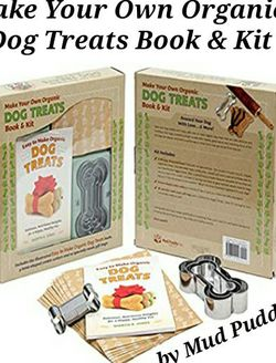 Brand New By MUDD PUDDLE - Make Your Own Organic Dog Treats Book & Kit for Sale in Buford,  GA